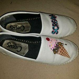 Cute ice cream shoes